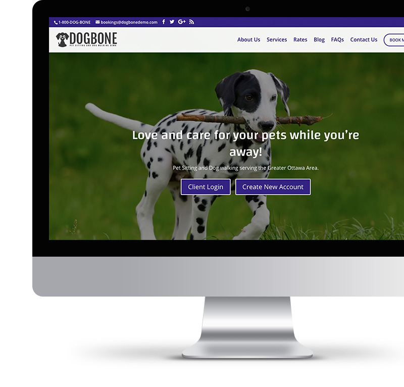 HOME - Pet Sitting and Dog Walking Websites 5