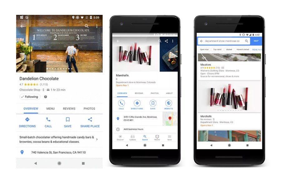 """Google My Business adds a """"Follow"""" Button"""