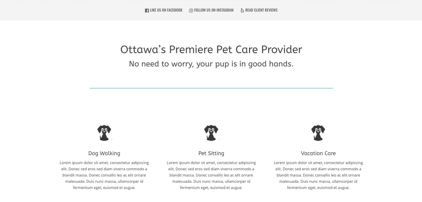New Website Setup Form 14