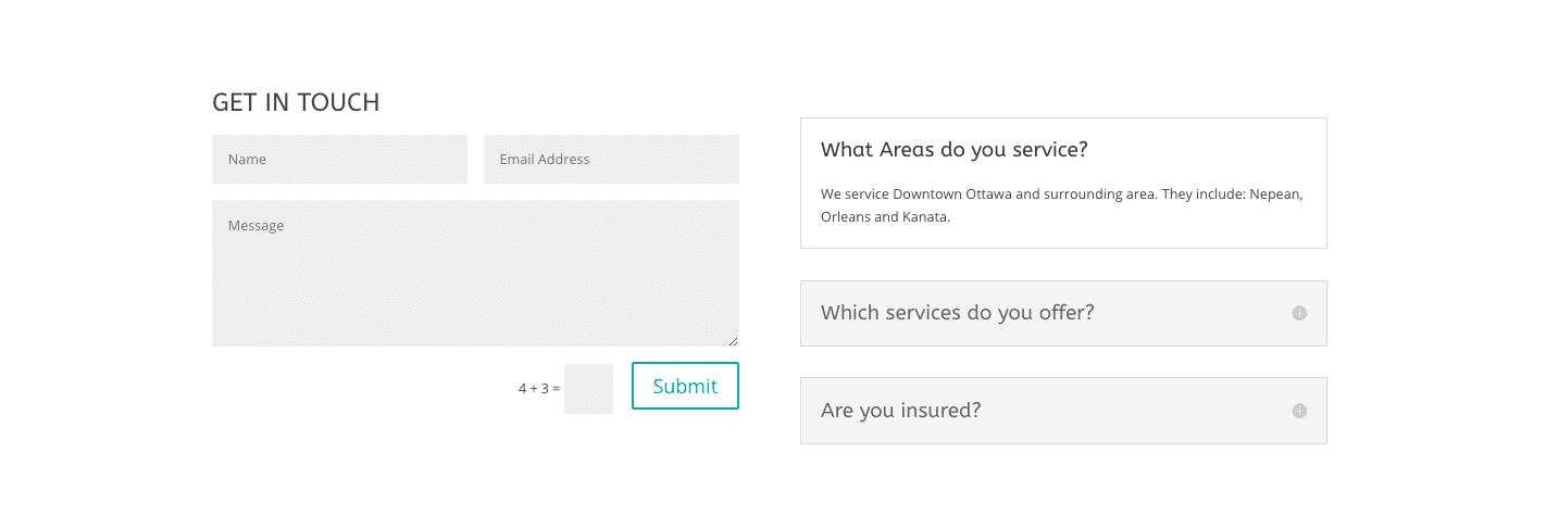 New Website Setup Form 19