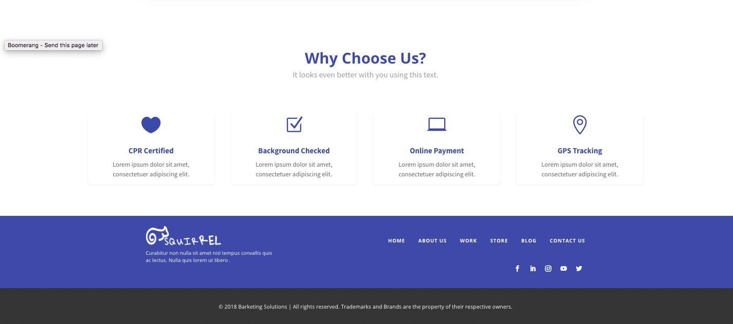 New Website Setup Form 25