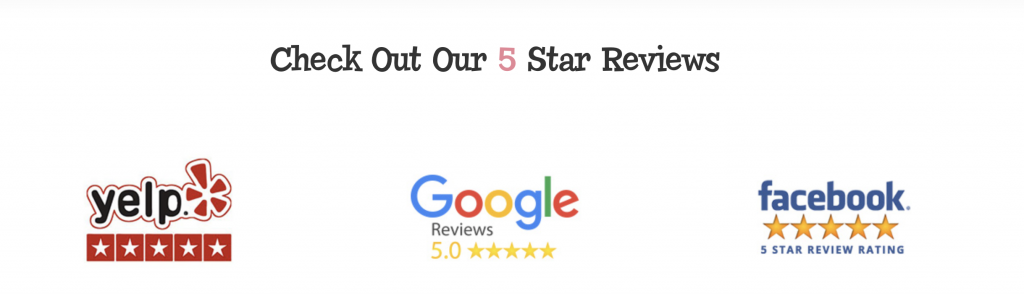 Local SEO - Reviews Example